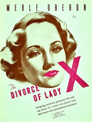 The Divorce of Lady X(1938)